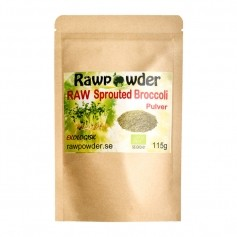 Raw Powder Broccoli Sprouted, 115 g, eko