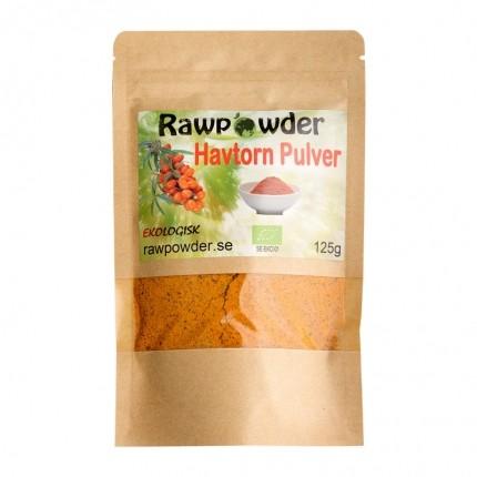 Raw Powder Havtorn pulver, 125 g, eko