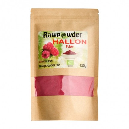 Raw Powder Hallon pulver (frystorkad), 125 g, eko