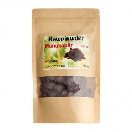 Raw Powder Manuka bär, 250 g, eko