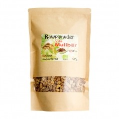 Raw Powder Mullbär vita, 500 g, eko