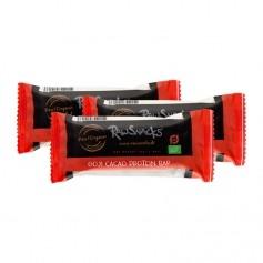 3 x Raw Snacks Proteinbar Goji Cacao, Økologisk