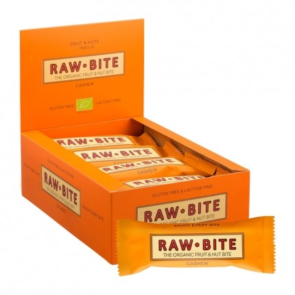 24 x Raw Bite Cashew, Bar