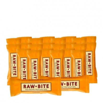 24 x Raw Bite Cashew, Bar