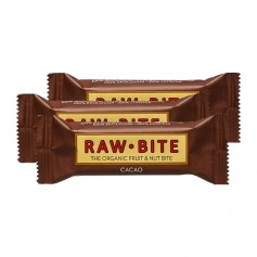 3 x Raw Food Raw Bite Kakao, Riegel