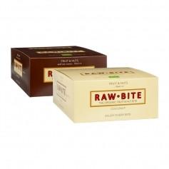 Raw Bite Pakke: 12 x Kakao & 12 x Kokos Barer