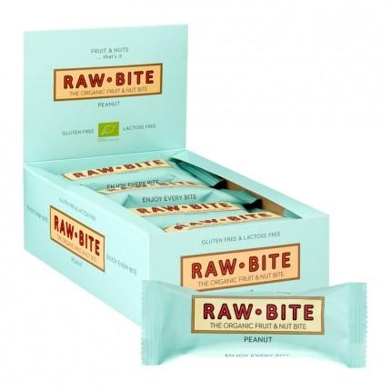 12 x Rawbite Peanut, Bar