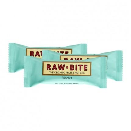3 x Rawbite Peanut, Bar