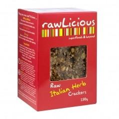 Rawlicious Crackers Italian Bread