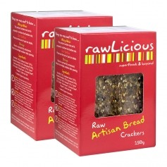 Rawlicious Crackers Artisan Bread