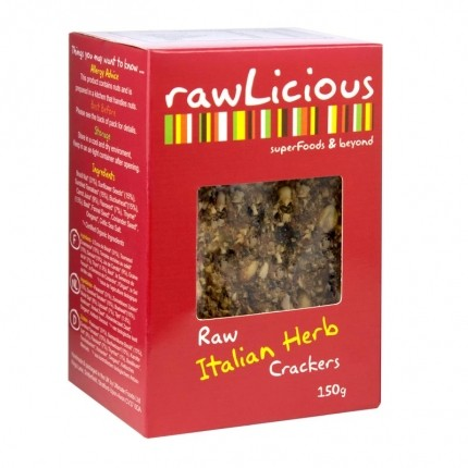 Rawlicious Crackers Brazil Nut & Thyme