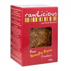 Rawlicious Crackers Tomato Pizza