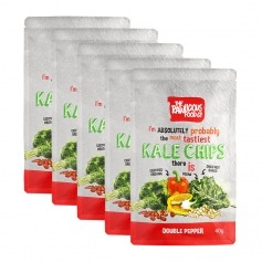 Rawlicious Kale Chips Double Pepper Twist