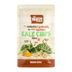 Rawlicious Kale Chips Indian Spice Twist