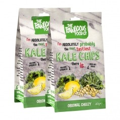 rawLicious, Kale chips 'oh so cheesey', lot de 2