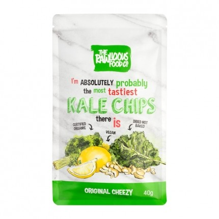 2 x Rawlicious Kale Chips Oh So Cheesey