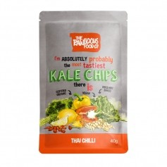 Rawlicious Kale Chips Thai Chilli Twist