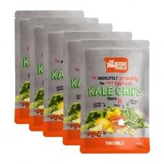 Rawlicious Kale Chips Thai Chilli Twist
