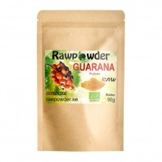 Raw Powder Guarana, 90 g, eko