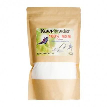 Raw Powder MSM, 500 g
