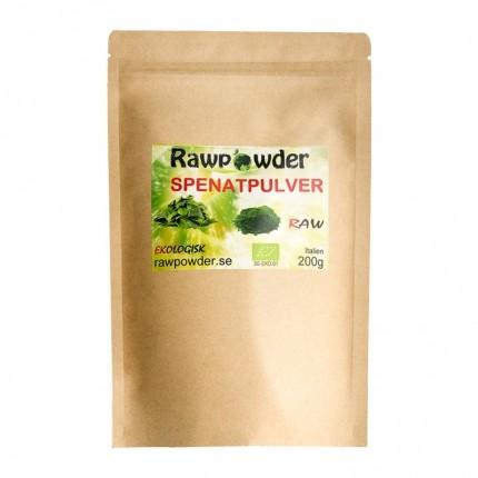 Raw Powder Spenat pulver