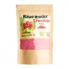 Raw Powder Tranbärspulver, 125 g, eko