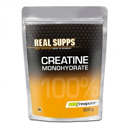 Real Supps 100% Creatine Monohydrate, Pulver