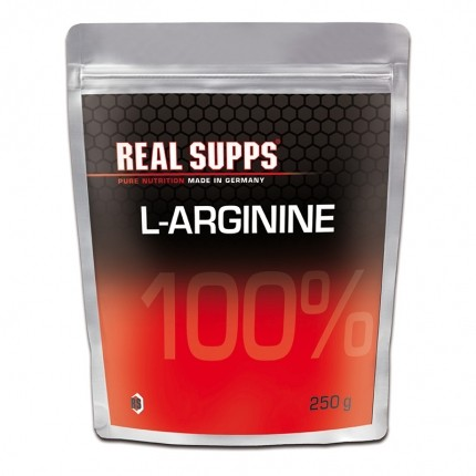 Real Supps 100% L-Arginin, Pulver