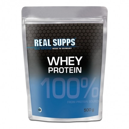 Real Supps 100% Whey Protein, pulver