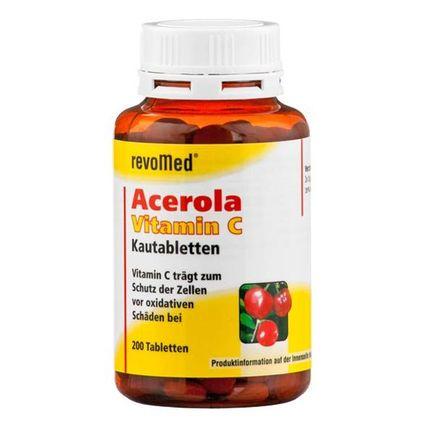 revoMed, Comprimés à mâcher d'acérola et de vitamine C