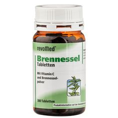 revoMed Brennnessel Tabletten mit Vitamin C