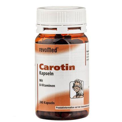 revoMed, Gélules de carotène avec vitamine B