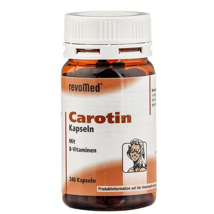revoMed Carotin mit B-Vitaminen