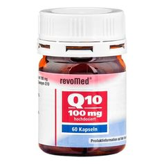 revoMed Coenzyme Q10 Capsules