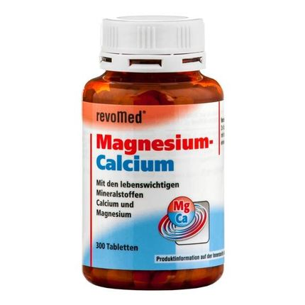 revoMed, Comprimés de magnésium et de calcium