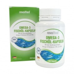 Huile de saumon riche en Omega 3 en gélules par revoMed