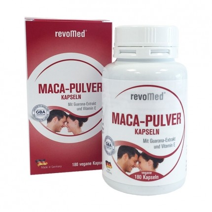 revoMed Maca Powder Capsules