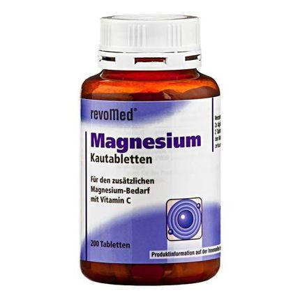 revoMed, Gommes à mâcher de magnésium