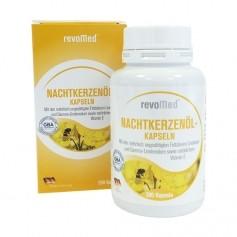 revoMed Nachtkerzenöl Kapseln mit Vitamin E