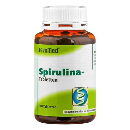 revoMed Spirulina tabletter
