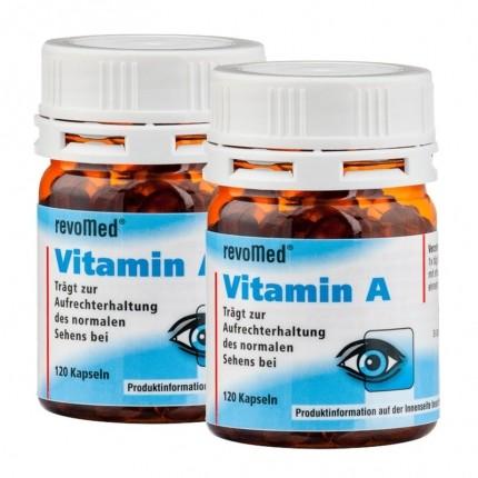 revoMed Vitamin A Doppelpack, Kapseln