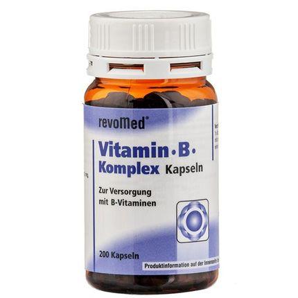 Vitamin B-Komplex (200 Kapseln)