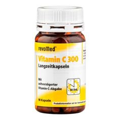 revoMed Vitamin C 300 Long-Term Capsules