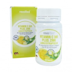revoMed Vitamin C 300 plus Zink Langzeitkapseln