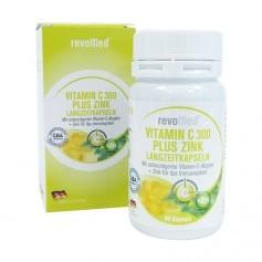 revoMed Vitamin C 300 plus Zink, långtidsverkande kapslar