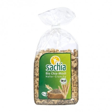 Sachia Bio Chia-Müsli, Hafer Crunchy