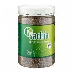 Sachia Chia Samen Bio, schwarz