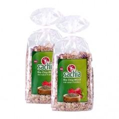 Sachia Chia-Müsli mit roten Früchten