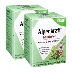 Salus Alpenkraft Kräutertee Husten- & Bronchialtee