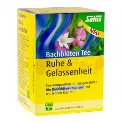 Salus Bio Bachblüten Tee Ruhe & Gelassenheit, Filterbeutel